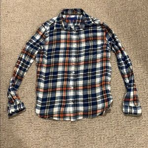 Aeropostale Size Small Plaid Button Down Shirt